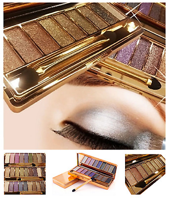 Eyeshadow Palette with Makeup Brush Professional 9 Colours Cosmetic Fashion Set