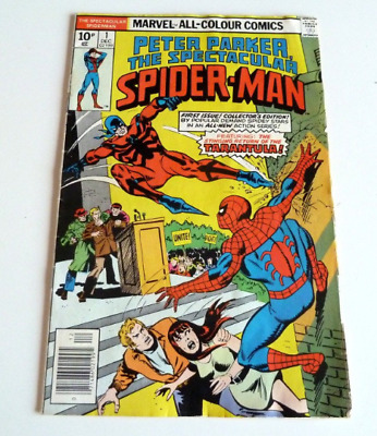 1976 Marvel Comic SPECTACULAR SPIDER-MAN #1 VF Condition 9.0