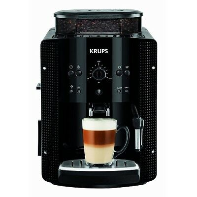 Krups Espresseria EA8108 Series Bean to Cup Coffee Machine Black 2 Year Warranty