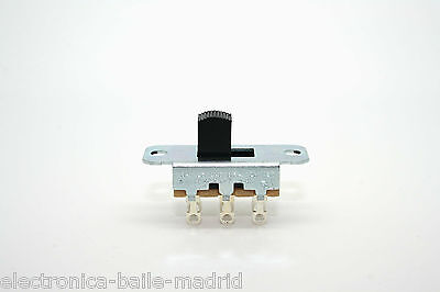 3x SWITCHCRAFT 2 WAY SLIDE SWITCH FOR FENDER JAGUAR JAZZMASTER BRIAN MAY