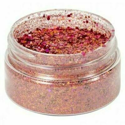 Cosmic Shimmer Holographic Glitterbitz - CORAL RED