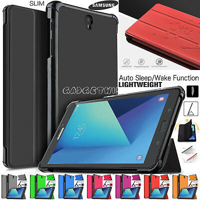 """Magnetic Leather Smart Stand Case Cover For Samsung Galaxy Tab S3 9.7"""" SM-T820"""