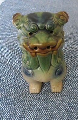 "Old Chinese Dragon Ceramic Ornaments Stands 8"" tall."