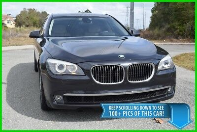 "2012 BMW 7-Series 750Li - 51K LOW MILES - HEAVILY OPTIONED - FREE SHIPPING SALE 750 Li LUXURY SEDAN - 6"" LONGER WHEELBASE THAN THAN THE SWB 750i i - BEAUTIFUL"