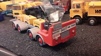1:50 Trucks Dinky Leyland Test Chassis with Weights
