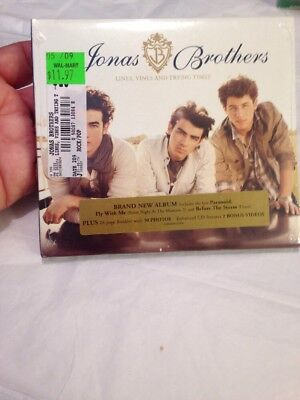 Lines, Vines and Trying Times [Digipak] by Jonas Brothers (CD, Jun-2009 New!!!