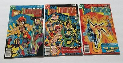 Lot of 3 Shade The Changing Man #4,6,7 VF+ High Grade Comic Books The Coma Man
