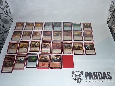 MtG Magic the Gathering red Beat Down Deck