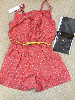 M&S Girls Playsuit Age 8 BNWT