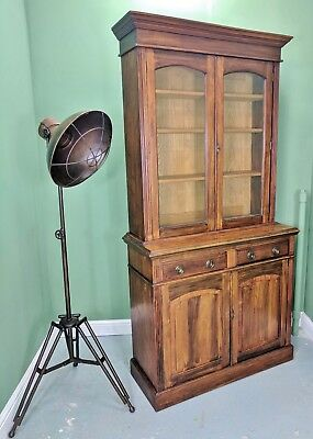 An Antique Late Victorian Dresser Bookcase Cabinet ~Delivery Available~