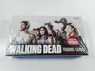 The Walking Dead Amc Tv Show Season 1 Trading Card Sealed Box Cryptozoic