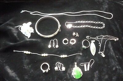 Job Lot Vintage And Modern Solid 925 Silver**** 65.32 Grams