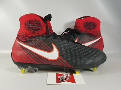 online store d71c1 38661 Nike Magista Obra II SG Pro AC PLAY FIRE BLACK RED 869482-061 sz 8
