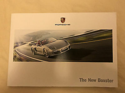 Porsche Boxster 981 Launch Kit and Brochure