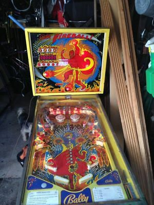 Bally fireball pinball machine home version
