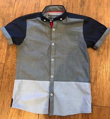BOYS NEXT SHORT SLEEVED SHIRT 8 Yrs Excellent SPITALFIELDS  COMPANY