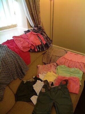 Bundle Of Girls Summer Clothes Aged 6-7 Years