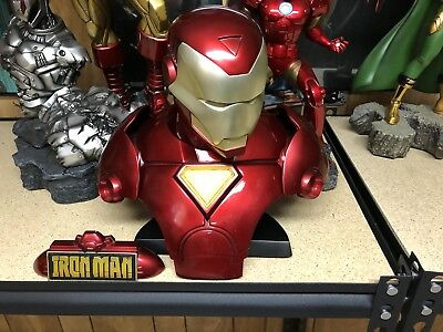 Sideshow Collectibles Ironman Legendary Scale Bust Exclusive