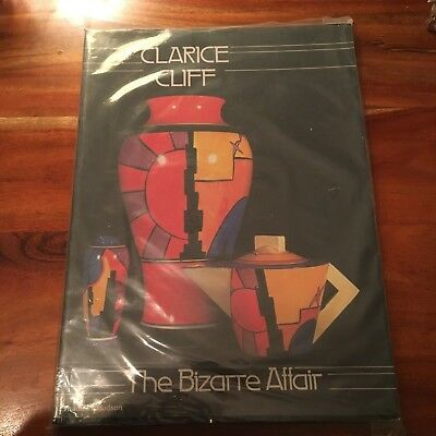Book, All about Clarice Cliff, The Bizarre Effect
