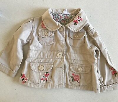 pumpkin patch baby girl Embroidered Jacket Size 0