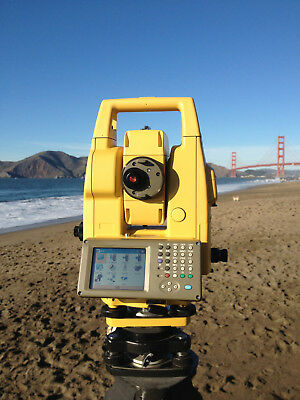 GPT-7000i 3 GEODETIC PULSATING IMAGING TOTAL STATION SURVEY SURVEYING EQUIPMENT