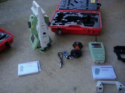 Leica Tcrp 1203 Total Station, Leica Rx 1200 Data Collector, Complete