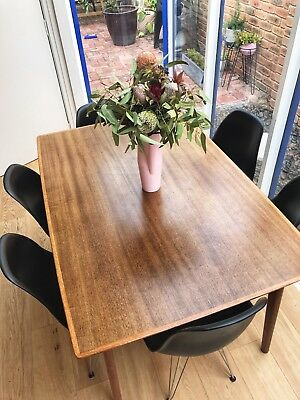 Vintage Retro Dining Table Extendable