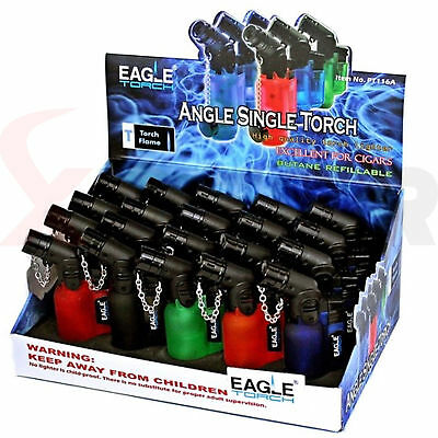 Eagle Jet Angle Torch Lighter Windproof Refillable Lighter Butane PT116A (20)