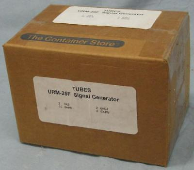 U.S. Military URM-25F Signal Generator Two Complete Sets of Spare Tubes