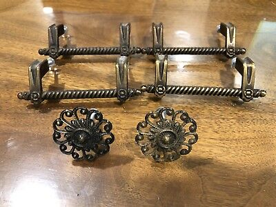 Vintage Antique Cabinet Dresser Drawer Pulls