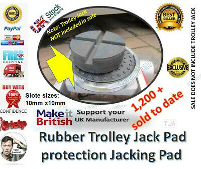Classic car Rubber Trolley Jack pad protection jacking pad adapter floor jack