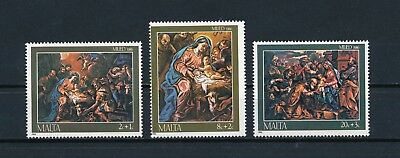 Malta  B57-9 MNH, Paintings by D'Arena, 1986