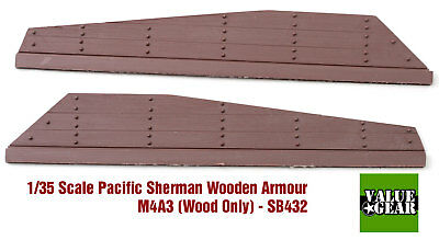Value Gear 1/35 Sherman M4A3 Wood Panel Armour Set #2