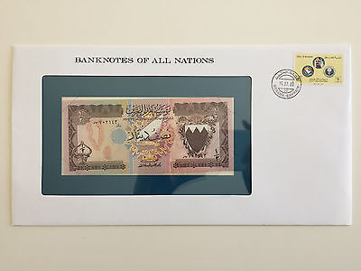 Banknotes of All Nations – Bahrain 1/2 Dinar UNC