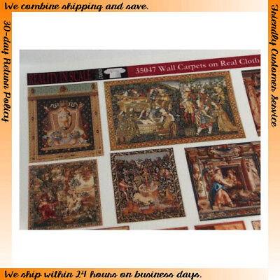 Reality In Scale 1/35 Wall Carpets on Real Cloth (14 different tapestries)