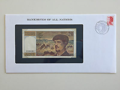 Banknotes of All Nations – France 20 francs 1980 UNC