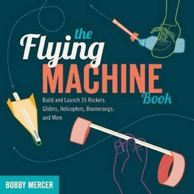 NEW Flying Machine Book By BOBBY MERCER Paperback Free Shipping