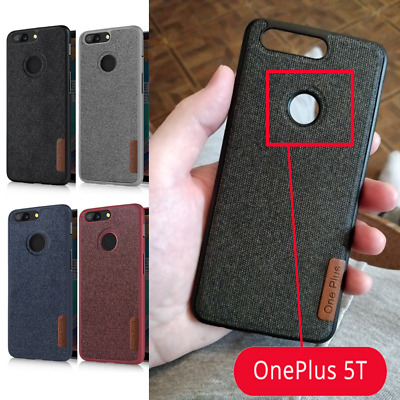 Case Cover OnePlus 5T Phone Soft Cotton Cloth One Plus 5T Silicone TPU New 2018