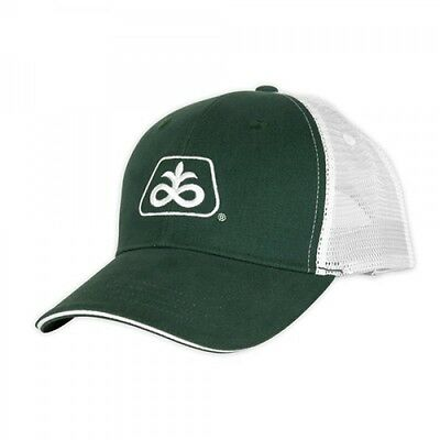 PIONEER SEED *HUNTER GREEN w/WHITE MESH* Trademark Logo CAP HAT *BRAND NEW* PS34