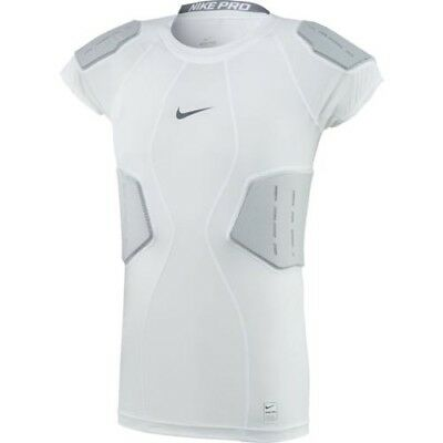 c166b41f Nike Pro Mens Hyperstrong Core Football Shirt White Sz Large 839930 100 New  NWT