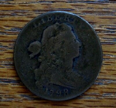 1798 Draped Bust Large Cent, Good