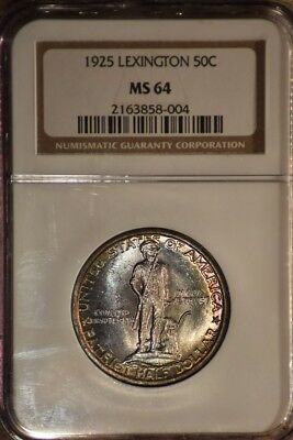 1925 Lexington Ngc Ms64 With Pretty Toning On Both Sides