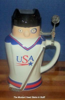 Schultz Dooley Stein Utica Club FIRST EDITION HOCKEY PLAYER~PUCKY! WEBCO!
