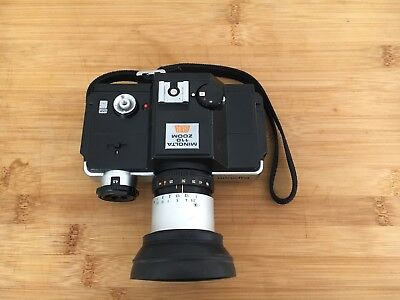 Minolta 110 Zoom SLR Camera With Strap, Case & Instructions 1976