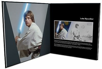 2018 Star Wars: A New Hope - Luke Skywalker 5g Silver Coin Note PLUS Album