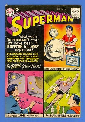 Superman #132 – Dc Comics (1959) – Vg+