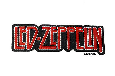 USA Led Zeppelin Music Rock Band Vintage Retro Style Iron on Patch Applique NEW