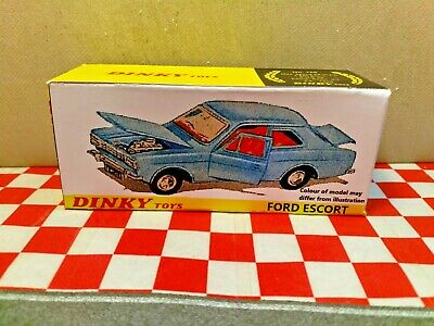 Dinky #168  Ford Escort        BOX ONLY