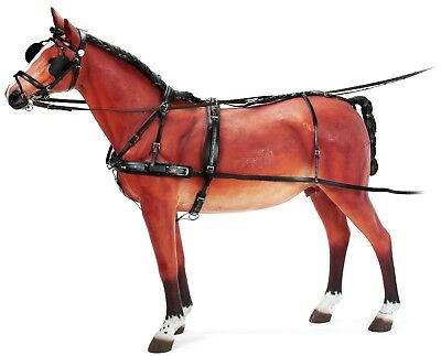 Zilco Classic Carriage Driving Harness In Full Black