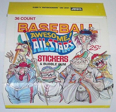 Awesome All Stars Empty Card Box by Leaf.